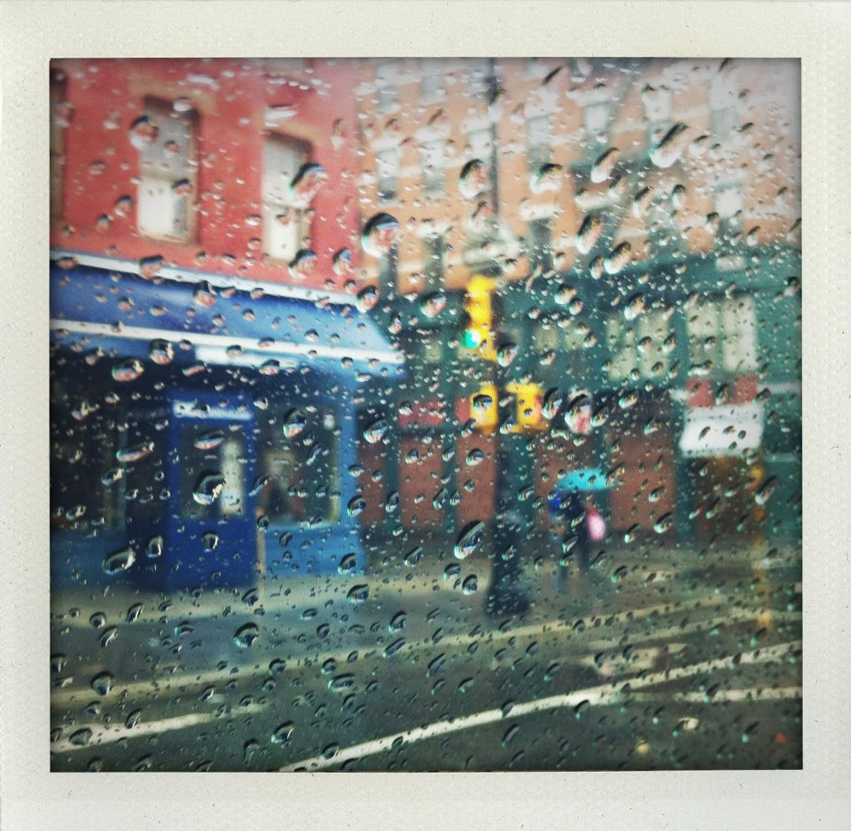 New York City in the Rain Photo by Jay Bryant West Windsor NJ
