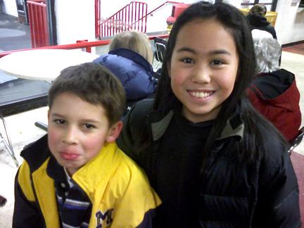 Isabel and Eddie