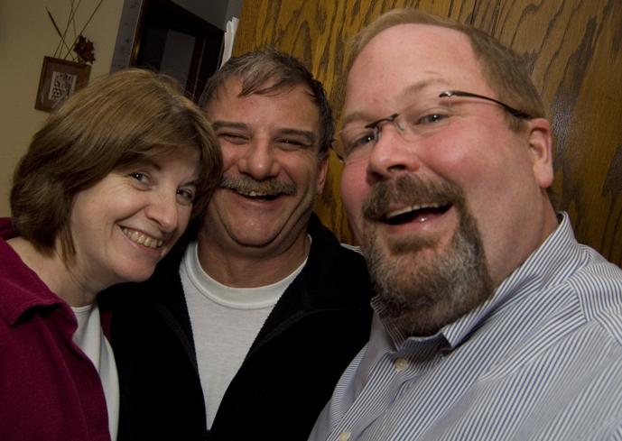 Jay with Tony and Nancy