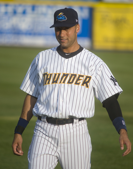 Derek Jeter photo by Jay Bryant