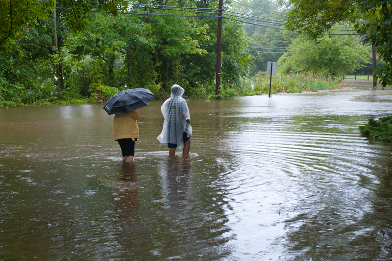 Flooding from Hurricane Irene