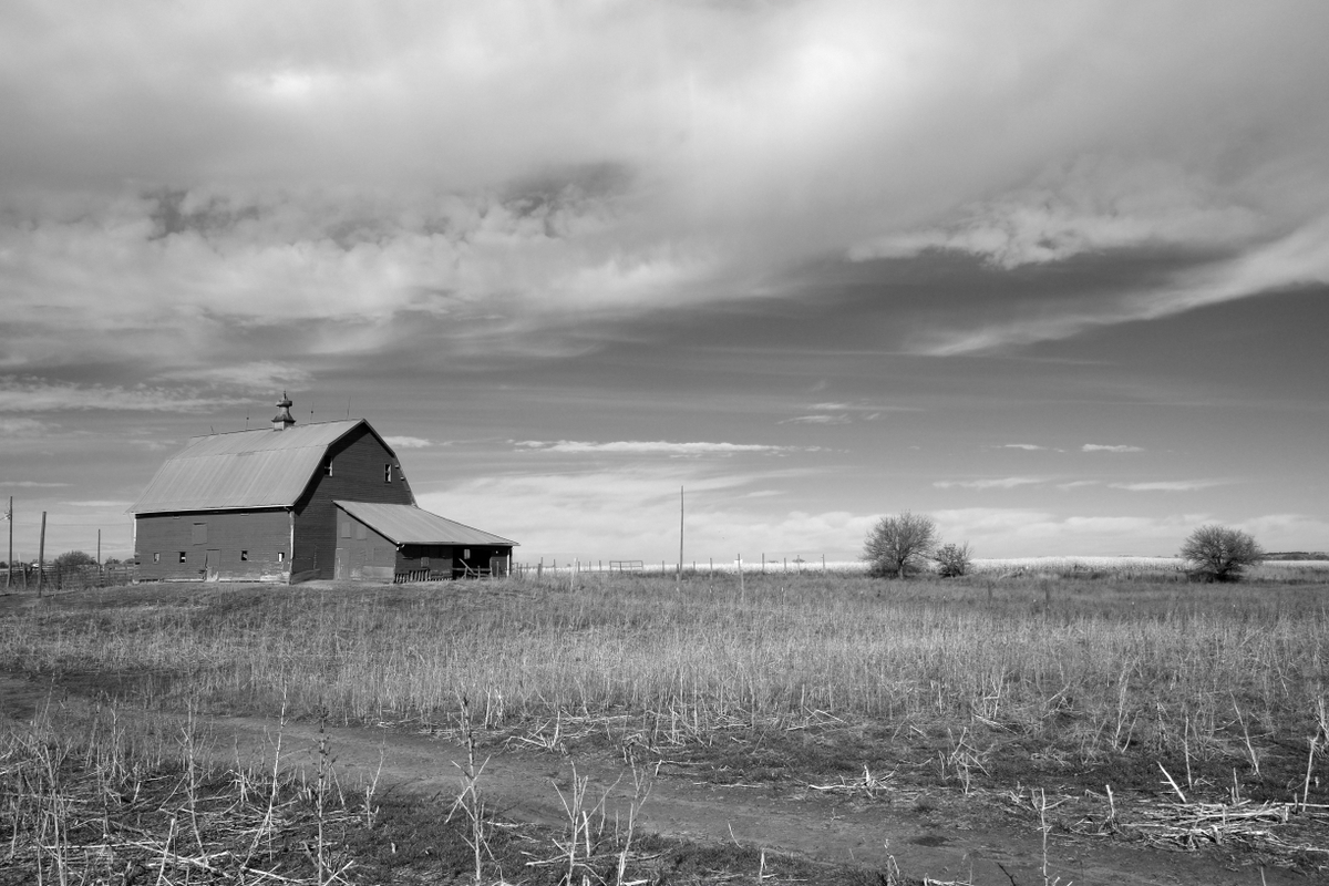 The Smith Barn - Built by my great grandfather in 1914, just north of Nelson NE